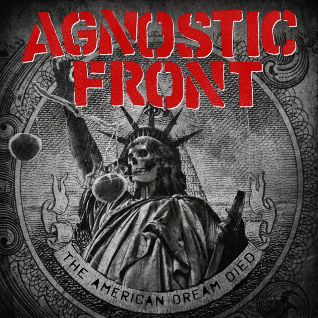 Agnostic Front THE AMERICAN DREAM DIED BINARY 714298